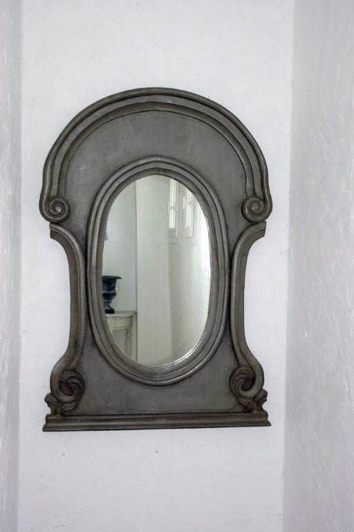 miroir oeil de boeuf escalier