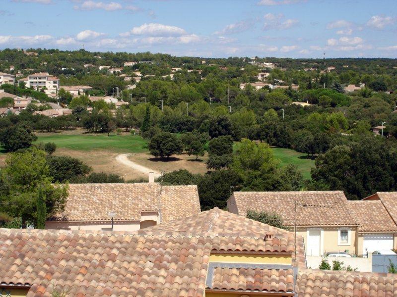 vue du golf depuis maison
